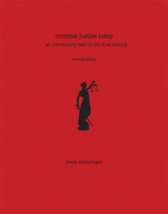 Cover of the book Criminal justice today (11st ed )