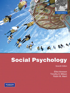 Cover of the book Social psychology (7th ed )