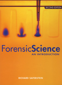 Cover of the book Forensic science: An introduction