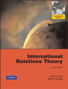 Cover of the book International relations theory