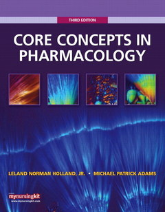 Cover of the book Core concepts in pharmacology (3rd ed )