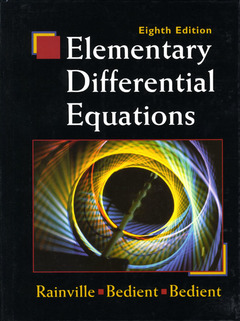 Cover of the book Elementary differential equations, 8th edition 1997