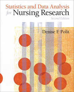 Cover of the book Statistics and data analysis for nursing research