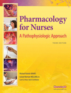 Cover of the book Pharmacology for nurses (3rd ed )