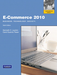 Cover of the book E-commerce 2010: Business, technology, society (6th Ed.)