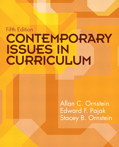 Cover of the book Contemporary issues in curriculum (5th ed )