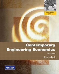 Cover of the book Contemporary engineering economics (5th ed )