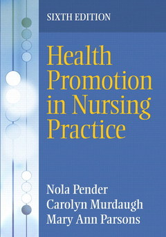 Cover of the book Health promotion in nursing practice (6th ed )