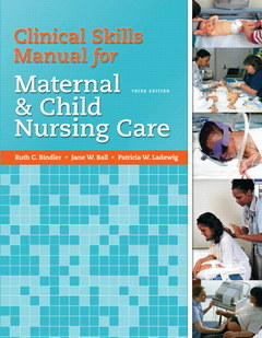 Cover of the book Skills manual for maternal and child nursing care (3rd ed )