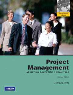 Cover of the book Project management
