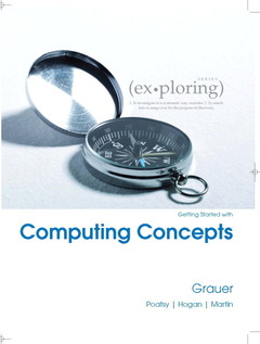 Cover of the book Exploring getting started with computing concepts (1st ed )