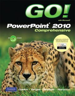 Cover of the book Go! with powerpoint 2010 comprehensive (1st ed )