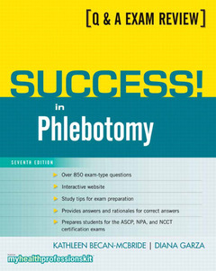 Cover of the book Success! in phlebotomy (7th ed )