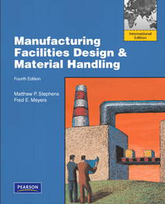 Cover of the book Manufacturing facilities design & material handling (4th ed )