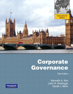 Cover of the book Corporate governance