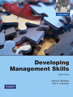 Cover of the book Developing management skills (8th ed )