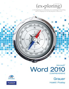 Cover of the book Exploring microsoft office word 2010 comprehensive (1st ed )