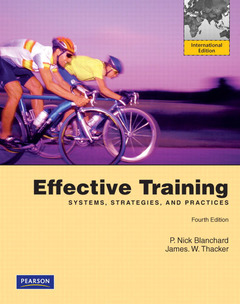 Cover of the book Effective training