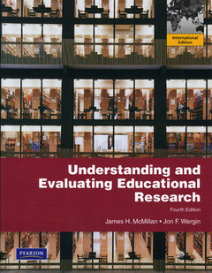 Cover of the book Understanding and evaluating educational research (4th ed )