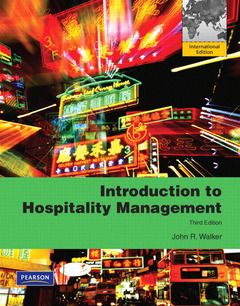Cover of the book Introduction to hospitality management