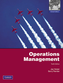 Cover of the book Operations management (10th ed )