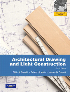 Cover of the book Architectural drawing and light construction (8th ed )