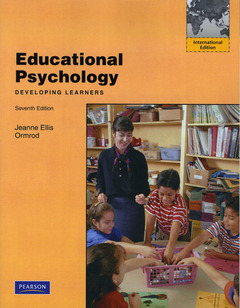 Cover of the book Educational psychology 7/e, ormrod (7th ed )