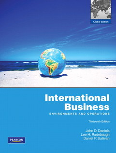 Cover of the book International business (13rd ed )