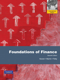 Cover of the book Foundations of finance 7/e, keown (7th ed )