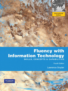 Cover of the book Fluency with information technology (4th ed )