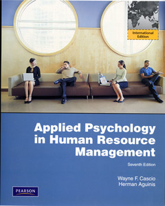 Cover of the book Applied psychology in human resource management (7th ed )