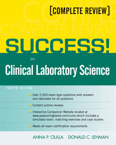 Cover of the book Success! in clinical laboratory science