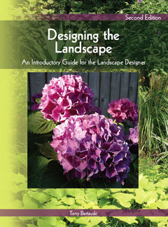 Cover of the book Designing the landscape