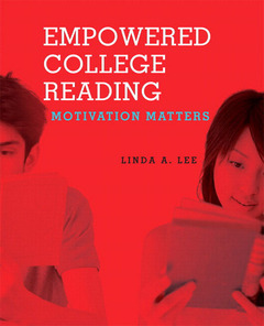Cover of the book Empowered college reading (1st ed )