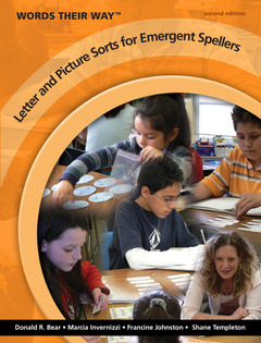 Cover of the book Words their way letter and picture sorts for emergent spellers