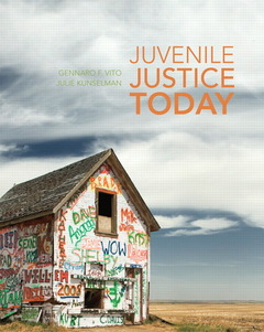 Cover of the book Juvenile justice today (1st ed )