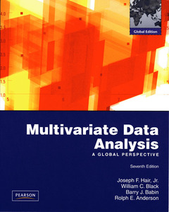 Cover of the book Multivariate data analysis