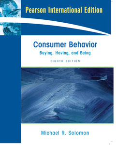 Cover of the book Consumer behavior: Buying, having and being, PIE