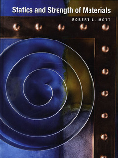 Cover of the book Applied statics and strength of materials