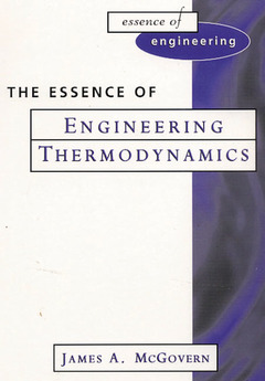 Cover of the book The essence of engineering thermodynamic (paper)