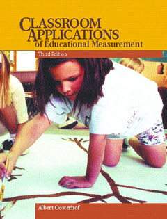 Cover of the book Classroom applications of educational measurement (3° ed )