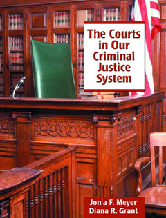 Cover of the book Courts in our criminal justice system, the