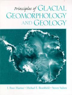 Cover of the book Principles of glacial geomorphology and geology
