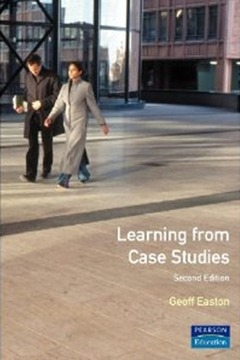 Cover of the book Learning from case studies (2nd ed '91) paper