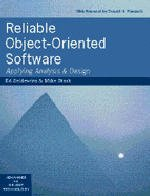 Cover of the book Reliable object oriented software : applying analysis and design (Paper)