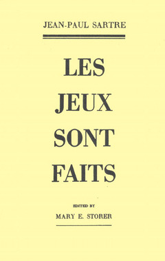 Cover of the book jeux sont faits