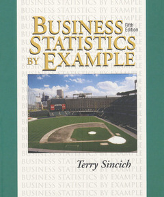 Cover of the book Business statistics computer SW TUT package (paper)