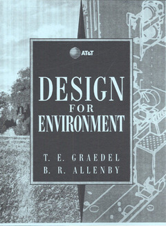 Cover of the book Design for environment (paper)