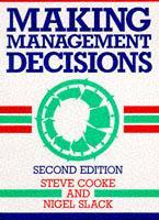 Cover of the book Managing management decisions (paper) (2nd ed. 91)