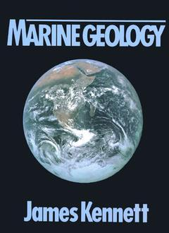 Cover of the book Marine geology